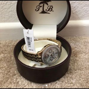Tommy Bahama Gold Watch